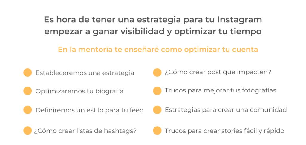 Cómo optimizar tu cuenta de Instagram
