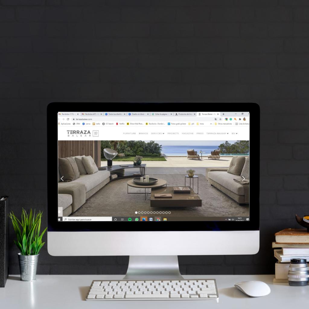 Molaidea, crea tu pagina web